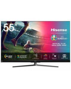 """55"""" LED TV Hisense 55U8QF, Black"""