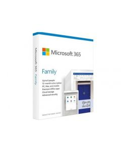 Microsoft 365 Family English Subscr 1YR CEE Only Medialess P6