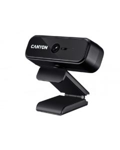 PC Camera Canyon C2N, 1080p/30fps, Sensor 2 MP, FoV 88°, Shutter, Microphone, Black